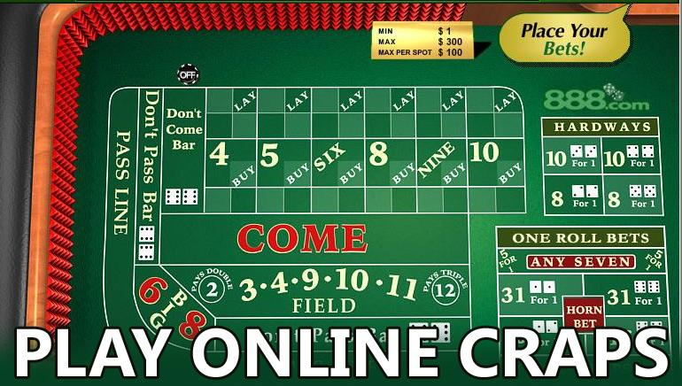 Play Craps For Free Online